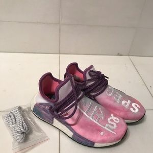 Pharrell/adidas Shoes - Pharrell pink glow athletic shoes for adidas